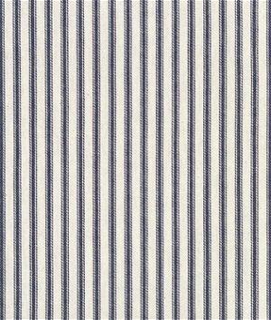 "47"" ACA Blue Ticking Fabric"