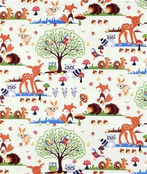 Timeless Treasures Woodland Scene Fabric