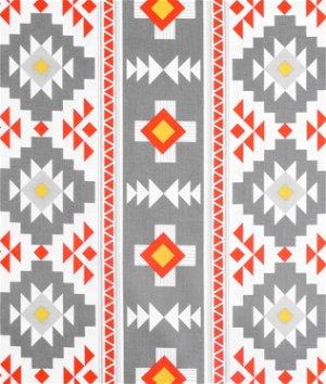 Riley Blake Four Corners Main Gray Fabric | OnlineFabricStore.net