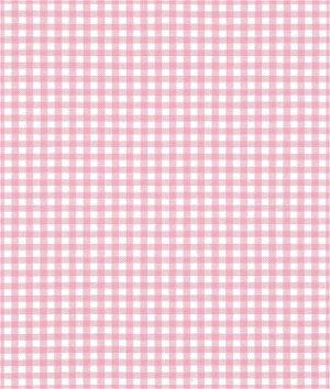 """Robert Kaufman 1/8"""" Pink Carolina Gingham Fabric"""