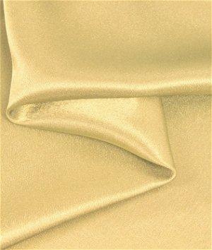 Sun Gold Crepe Back Satin Fabric