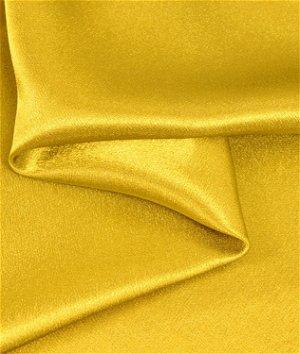 Yellow Crepe Back Satin Fabric
