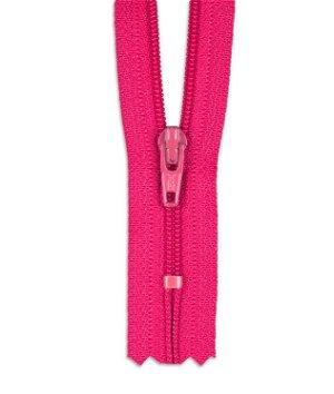 """YKK 7"""" Lipstick Pink #3 Closed End Zipper"""
