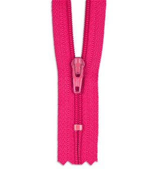"""YKK 9"""" Lipstick Pink #3 Closed End Zipper"""