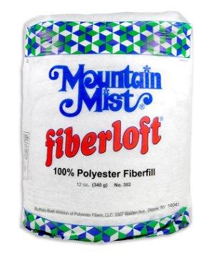 Mountain Mist Fiberloft Polyester Stuffing - 12 Ounce Bag