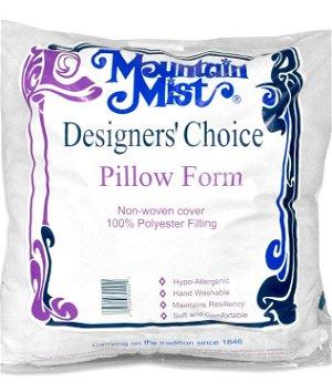 "Mountain Mist Designer's Choice Pillow Form - 18"" x 18"""