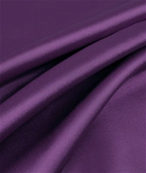 Plum Charmeuse Fabric