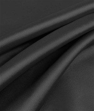 Black Charmeuse Fabric
