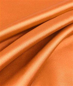 Orange Charmeuse Fabric