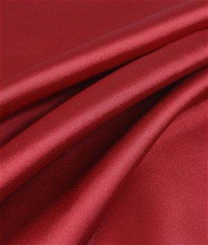 Dark Red Charmeuse Fabric