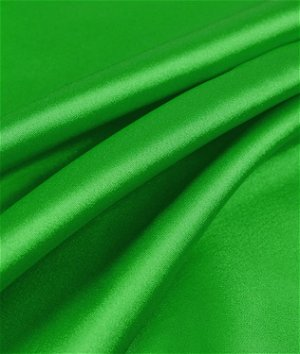 Flag Green Charmeuse Fabric