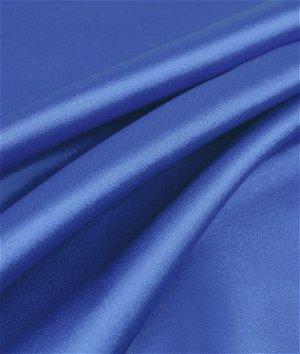 Royal Blue Charmeuse Fabric