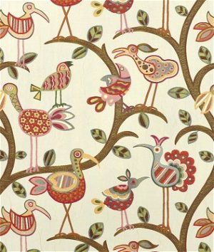Swavelle / Mill Creek Crazy Ol Bird Sunrise Fabric