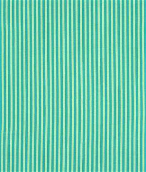 Michael Miller Clown Stripe Lagoon Fabric