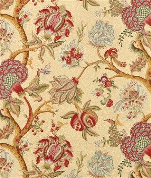 Richloom Darjeeling Cardinal Fabric