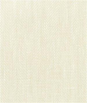 Ecru Belgian Linen Herringbone Fabric
