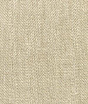 Natural Belgian Linen Herringbone Fabric
