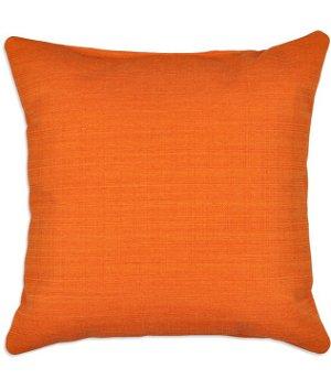 Solid Orange Decorative Pillows : OFS 16