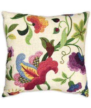 "Richloom 17"" x 17"" Gloria Jubilee Decorative Pillow"