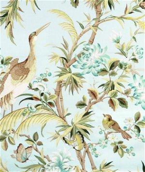 Richloom Egret Blue Heaven Fabric