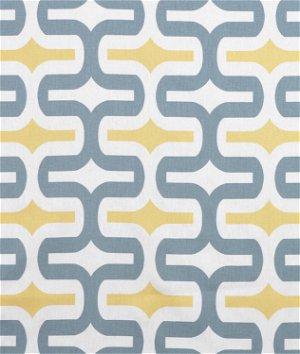 Premier Prints Embrace Saffron Macon Fabric