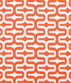 Premier Prints Embrace Tangelo Slub Fabric