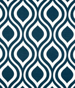 Premier Prints Emily Premier Navy Slub Fabric