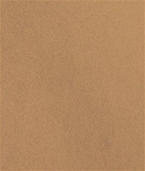 Camel Brown Wool Felt Fabric