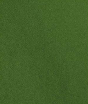 Grassy Meadows Green Wool Felt Fabric