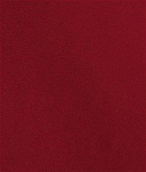Grandmas Garnet Red Wool Felt Fabric
