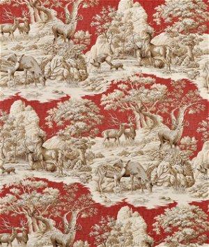 Braemore Ferguson Garnet Fabric