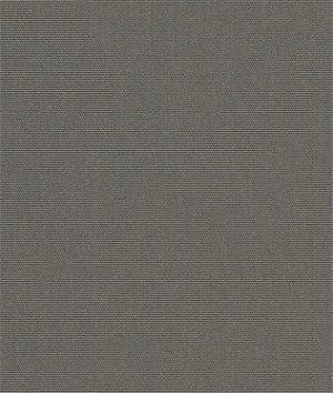 "Sunbrella Awning / Marine 46"" Charcoal Grey Fabric"