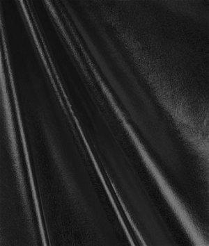 Black Foil Metallic Spandex Fabric | OnlineFabricStore.net
