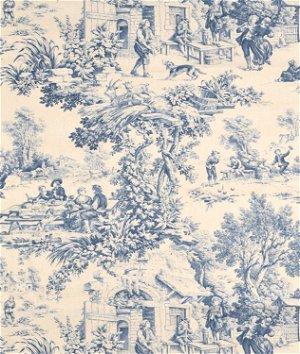 Stof Festin Bleu Fabric