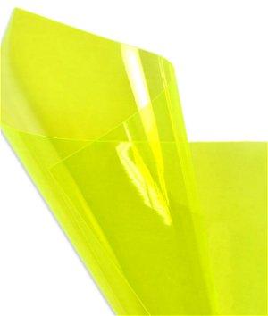 Yellow Green Fluorescent Vinyl