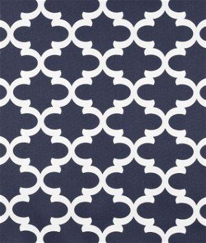 Premier Prints Fynn Blue White Fabric