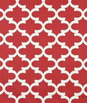 Premier Prints Fynn Timberwolf Red Macon Fabric