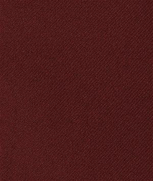 Burgundy Gabardine Fabric