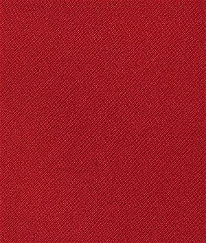 Red Gabardine Fabric
