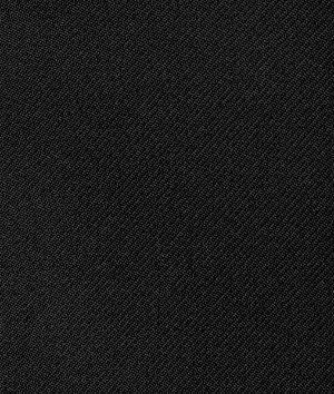 Black Gabardine Fabric