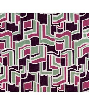 Gastón y Daniela GDT5131.001 Sarasota Verde/Rosa Fabric