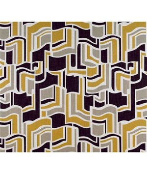 Kravet GDT5131.002 Sarasota Amarillo/Onyx Fabric
