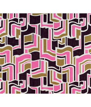 Kravet GDT5131.003 Sarasota Rosa/Onyx Fabric
