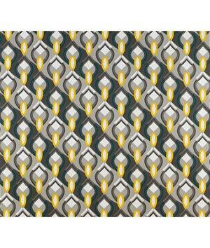 Kravet GDT5137.001 Ocean Drive Gris/Amarillo Fabric
