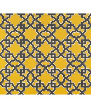 Gastón y Daniela GDT5138.001 Meridien Avenue Gris/Amarillo Fabric