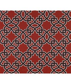 Gastón y Daniela GDT5138.005 Meridien Avenue Rojo/Chocola Fabric