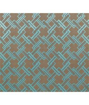 Kravet GDT5150.002 Los Angeles Beige/Turque Fabric