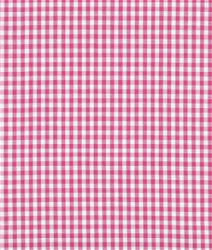 "1/8"" Fuchsia Gingham Fabric"