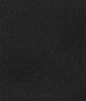 Black Glitter Felt Fabric