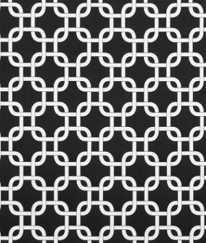 Premier Prints Gotcha Black Fabric